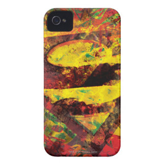 Superman S-Shield | Grunge Logo iPhone 4 Cover