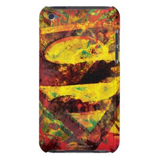 Superman S-Shield | Grunge Logo iPod Case-Mate Case