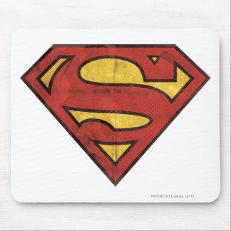 Superman S-Shield | Grunge Logo Mouse Pad