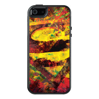 Superman S-Shield | Grunge Logo OtterBox iPhone 5/5s/SE Case