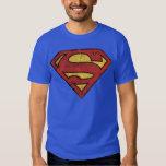 Superman S-Shield   Grunge Logo Shirt