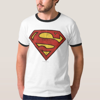 Superman S-Shield | Grunge Logo T-Shirt