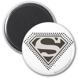 Superman S-Shield | It's Showtime! Logo 6 Cm Round Magnet