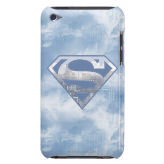 Superman S-Shield | Light Blue City Logo Barely There iPod Cover