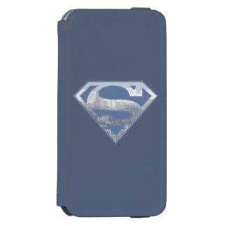 Superman S-Shield | Light Blue City Logo Incipio Watson™ iPhone 6 Wallet Case