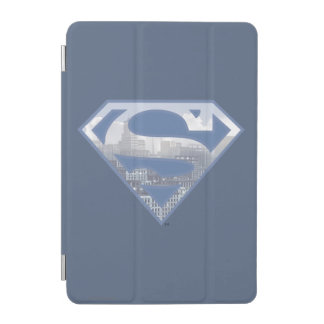 Superman S-Shield | Light Blue City Logo iPad Mini Cover