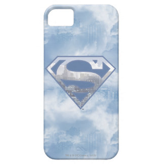 Superman S-Shield | Light Blue City Logo iPhone 5 Covers