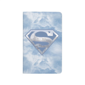 Superman S-Shield | Light Blue City Logo Journal