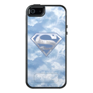 Superman S-Shield | Light Blue City Logo OtterBox iPhone 5/5s/SE Case