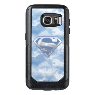 Superman S-Shield | Light Blue City Logo OtterBox Samsung Galaxy S7 Case