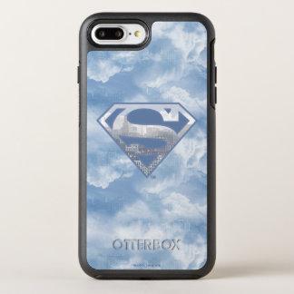 Superman S-Shield | Light Blue City Logo OtterBox Symmetry iPhone 7 Plus Case