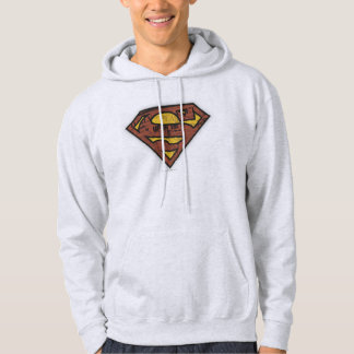 Superman S-Shield | Newspaper Logo Hoodie
