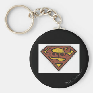 Superman S-Shield | Newspaper Logo Key Ring