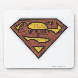 Superman S-Shield | Newspaper Logo Mouse Pad