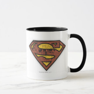 Superman S-Shield | Newspaper Logo Mug