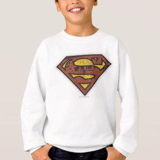 Superman S-Shield | Newspaper Logo Sweatshirt