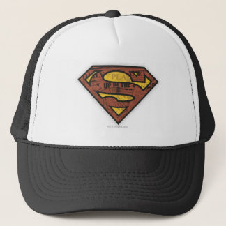 Superman S-Shield | Newspaper Logo Trucker Hat