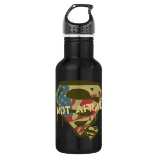 Superman S-Shield | Not Afraid Logo 532 Ml Water Bottle