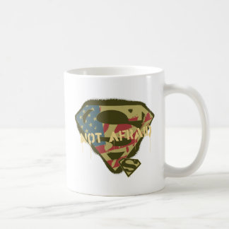 Superman S-Shield | Not Afraid Logo Coffee Mug