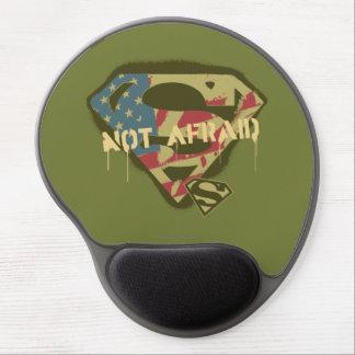 Superman S-Shield | Not Afraid Logo Gel Mouse Pad