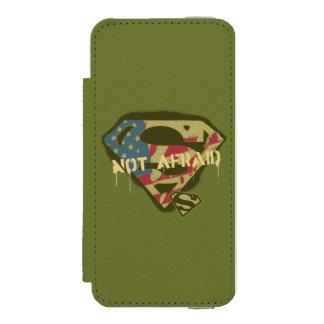 Superman S-Shield | Not Afraid Logo Incipio Watson™ iPhone 5 Wallet Case
