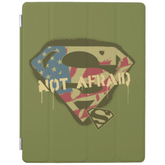 Superman S-Shield | Not Afraid Logo iPad Cover