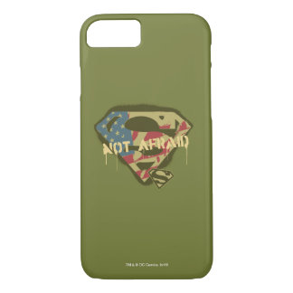 Superman S-Shield | Not Afraid Logo iPhone 8/7 Case