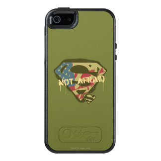 Superman S-Shield | Not Afraid Logo OtterBox iPhone 5/5s/SE Case