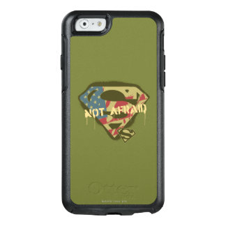 Superman S-Shield | Not Afraid Logo OtterBox iPhone 6/6s Case