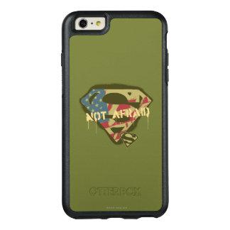 Superman S-Shield | Not Afraid Logo OtterBox iPhone 6/6s Plus Case