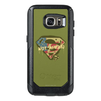 Superman S-Shield | Not Afraid Logo OtterBox Samsung Galaxy S7 Case