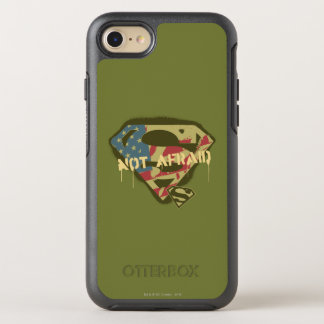 Superman S-Shield | Not Afraid Logo OtterBox Symmetry iPhone 8/7 Case