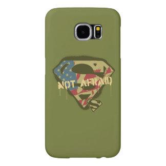 Superman S-Shield | Not Afraid Logo Samsung Galaxy S6 Cases
