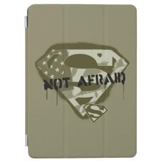 Superman S-Shield   Not Afraid - US Camo Logo iPad Air Cover