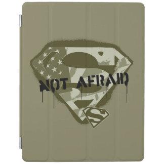 Superman S-Shield | Not Afraid - US Camo Logo iPad Cover
