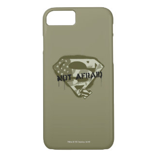 Superman S-Shield | Not Afraid - US Camo Logo iPhone 8/7 Case