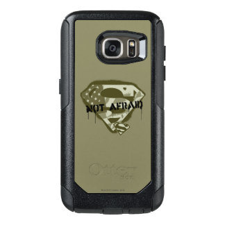 Superman S-Shield | Not Afraid - US Camo Logo OtterBox Samsung Galaxy S7 Case