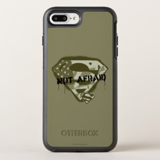 Superman S-Shield | Not Afraid - US Camo Logo OtterBox Symmetry iPhone 8 Plus/7 Plus Case