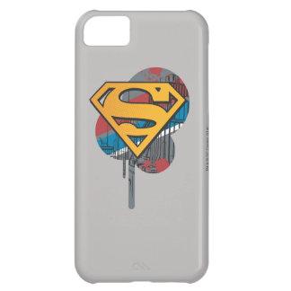 Superman S-Shield | Orange with Paint iPhone 5C Case