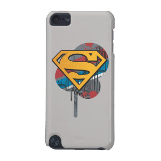 Superman S-Shield | Orange with Paint iPod Touch 5G Cases