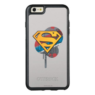 Superman S-Shield | Orange with Paint OtterBox iPhone 6/6s Plus Case