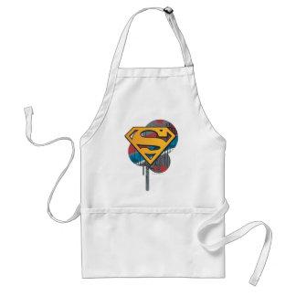 Superman S-Shield | Orange with Paint Standard Apron