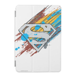 Superman S-Shield | Paint Streaks Logo iPad Mini Cover