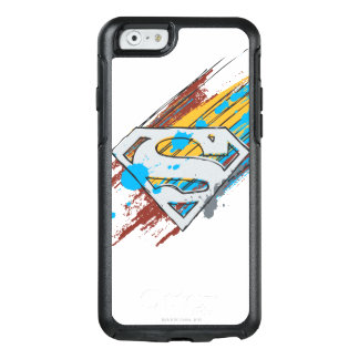 Superman S-Shield | Paint Streaks Logo OtterBox iPhone 6/6s Case