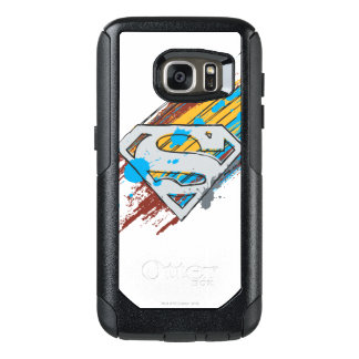 Superman S-Shield | Paint Streaks Logo OtterBox Samsung Galaxy S7 Case