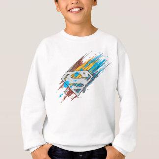 Superman S-Shield | Paint Streaks Logo Sweatshirt