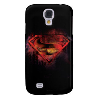 Superman S-Shield | Painted Logo Galaxy S4 Case