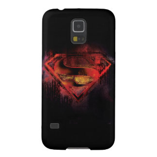 Superman S-Shield | Painted Logo Galaxy S5 Cover