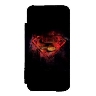Superman S-Shield | Painted Logo Incipio Watson™ iPhone 5 Wallet Case