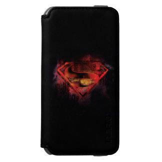 Superman S-Shield | Painted Logo Incipio Watson™ iPhone 6 Wallet Case